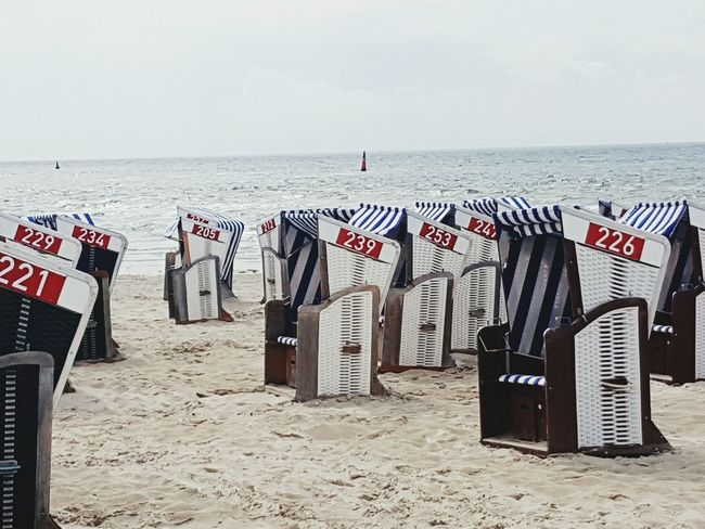 Norderney Norderney Ist Mein Hawaii Nordsee Strand Strandkörbe