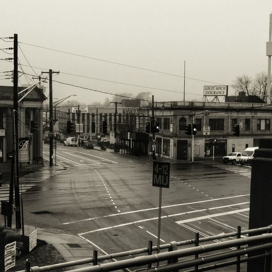 Deserted Intersection Rainy Day Streetphotography Roads Cloudy Morning My Commute