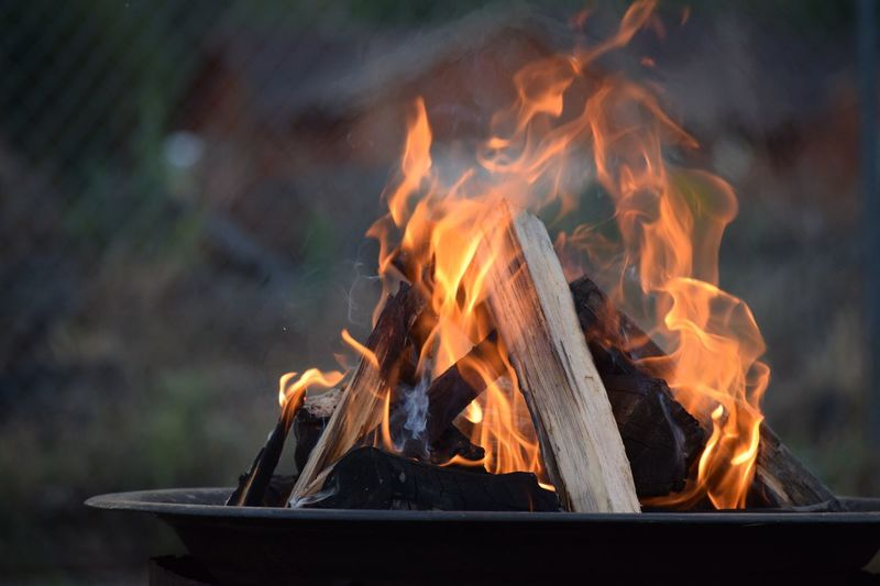 Flame Fire - Natural Phenomenon Burning Heat - Temperature Close-up No People Outdoors Night