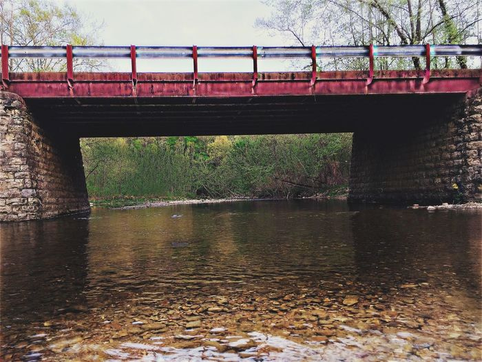 Bridge - Man Made Structure Water River Outdoors Nature