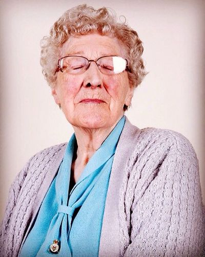 Helen was the driver for the commander of the RAF in World War Two this image is from a project about Age Concern First Eyeem Photo