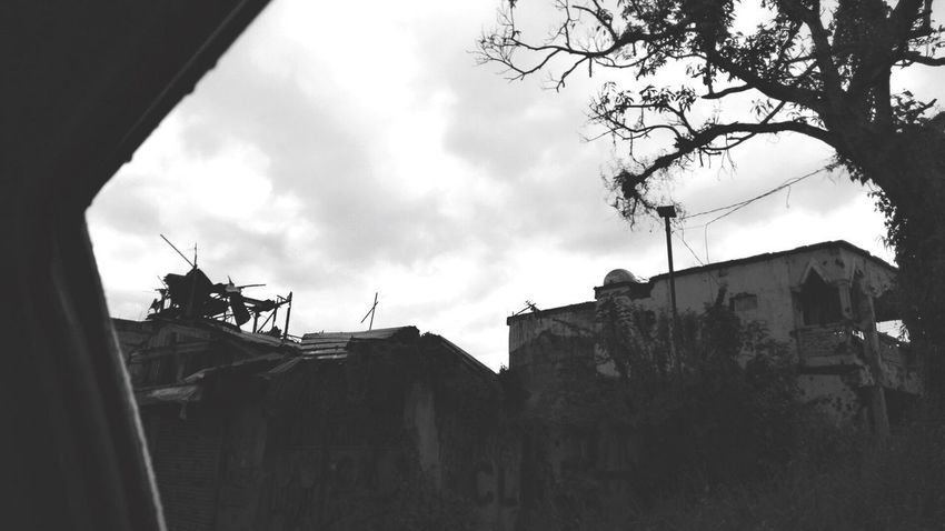 #ruins #marawiseige Sky Tree Low Angle View Building