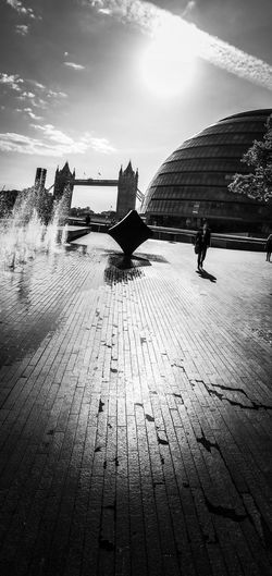 Mooore London Travel Photography Travel Destinations Travel Street Photography Blackandwhite Bnw Leica Lens Huawei P20 Pro Huaweiphotography P20 Pro Mobile Photography United Kingdom Uk England London Tower Bridge  City Hall Sky Nature Water Cloud - Sky Day Land Real People Outdoors Architecture Silhouette Built Structure City Sunlight