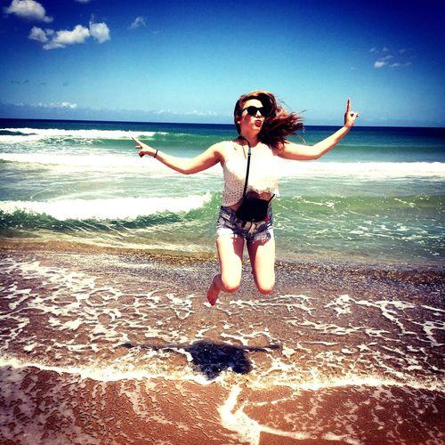 Cheese! That's Me Enjoying Life Beach Happy Love