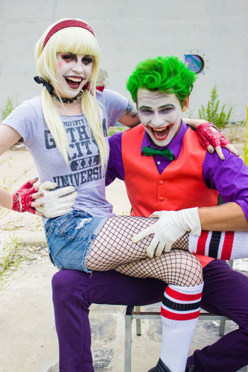 Hey please check out the rest of the shoot here: https://flickr.com/photos/125202879@N04/sets/72157653566201444 Cosplay The Joker The Joker & Harley Quinn Harleyquinn follow me on Facebook: Eye Of A Panda // Photography