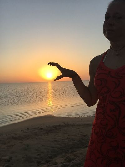 Beach Photography Vacation2015 Enjoying The Sun On The Beach Nofilter Sea Sunrise... Sunrise Sunrise_sunsets_aroundworld