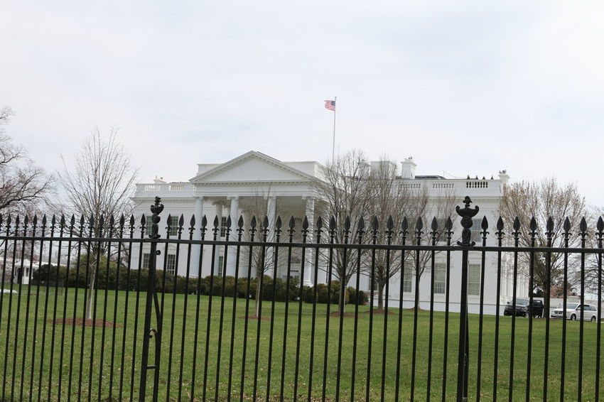 Architecture Flag Historic Historical Historical Building The White House USA Washington Washington, D. C. White House