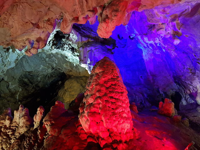 Macedonia Matka Canyon Cave Cave Multi Colored Rock - Object Rock Formation Close-up