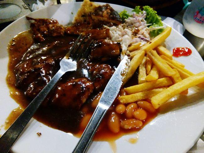 Chickengrill Blackandwhite