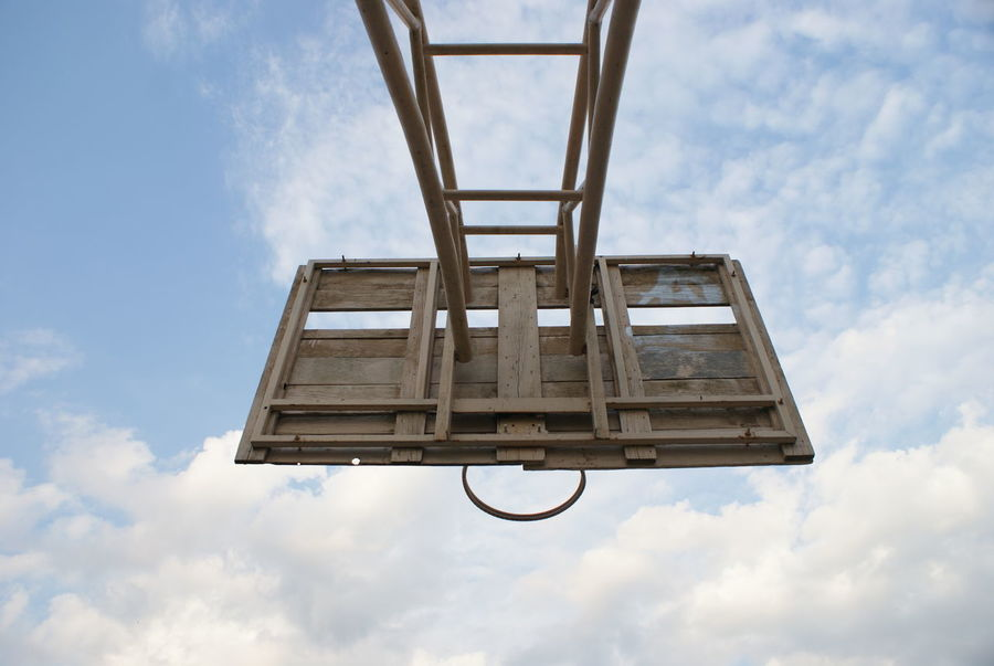 Basketball Cloud Cloudy Basketball - Sport Basketball Hoop Clouds Clouds And Sky Lifestyles Sky Skylovers Sport Sports Photography