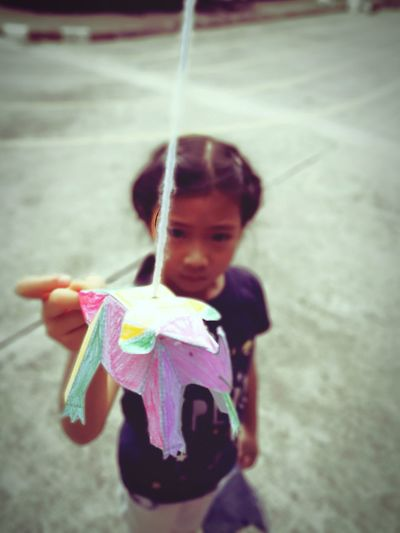 Trinosaur. Child Playing Bankgkok