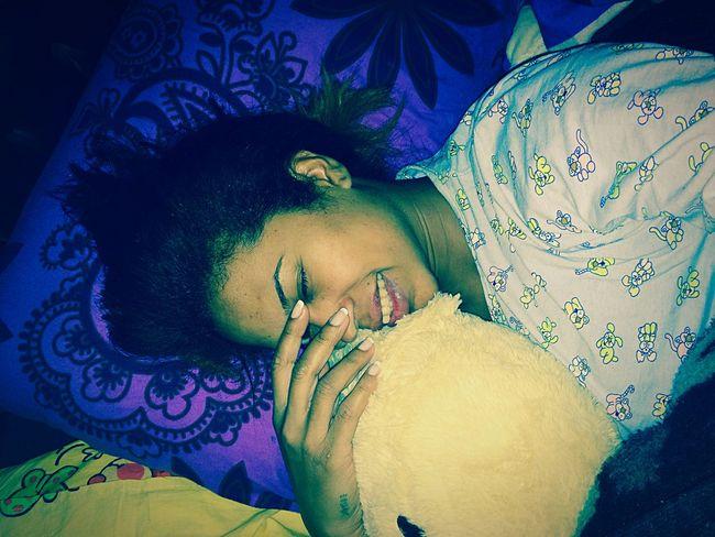 Sleeping Sleepy Alone Time Purple Bear My All My Baby My World ??