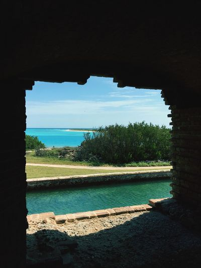 Fort Jefferson in the Dry Tortugas. An old Civil War prison.