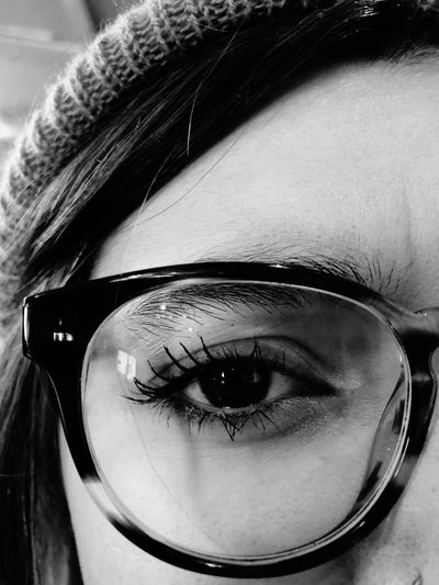 👓 Real People Human Eye Close-up One Person Human Body Part Looking At Camera Indoors