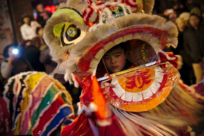 Philadelphians celebrate the Year of the Rooster with Chinese lion dances, fire crackers and more. Celebration China Town Phil Chinatown Chinese Dragon Chinese New Year Chinese New Year 2016 Chinese New Year 2017 Color Colorful Crowd Cultures Focus On Foreground Headwear Light Night Photography People People Watching Philadelphia Tradition Traditional Clothing Traditional Festival