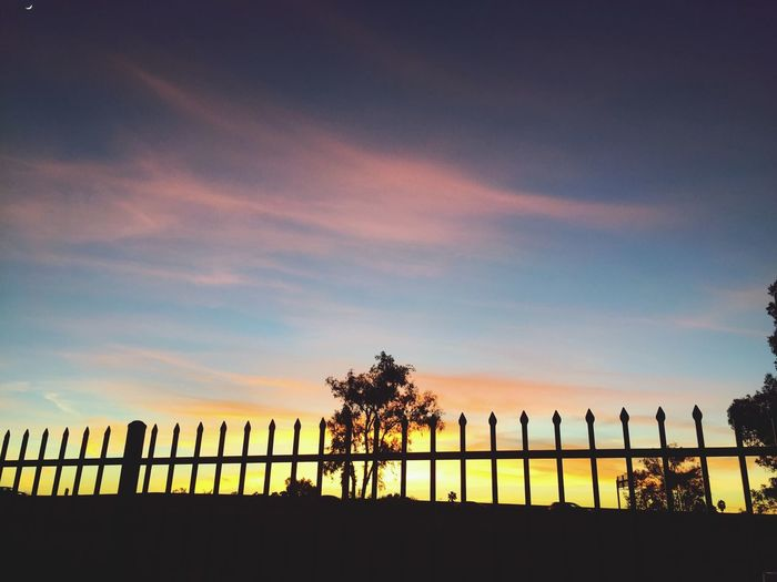 Sun Lakes Sky Sunset Silhouette Tree Built Structure Cloud - Sky Colour Your Horizn