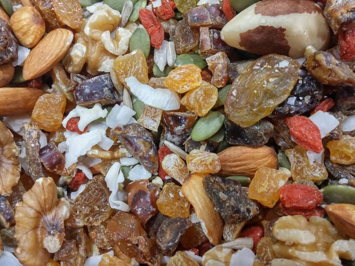 I was inspired by my friends Ahmed's recent post to share this snapshot with you ☺ Maximum Closeness Studentenfutter Trail Mix Scroggin Shopping!  Nuts Dried Fruits Gorp Snack Mix Snack Time! Schmogle Speak MY Language Kewl=cool In NZ Lingo Women Who Inspire You Mixed Nuts Tasty Fruits Seeds Well Being Papaya Food Photography Natural Multiple Colors Random Shapes Assortment Goji Berries