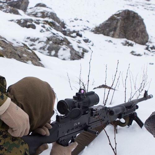 U.S Marines training in Alaska USA Us Military USMC