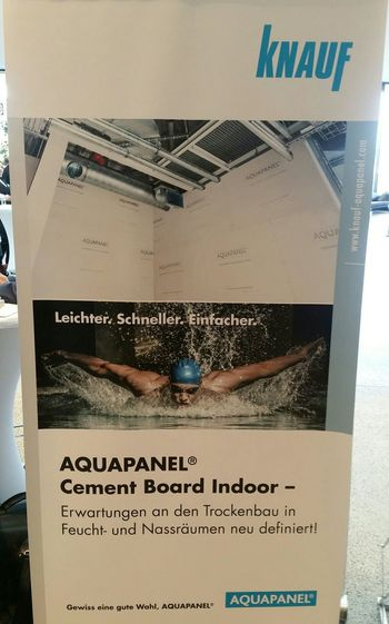 KNAUF AQUAPANEL INNDOOR. Sehr, sehr LÄSSIG! Kreatives Bauen Knauf KNAUF AQUAPANEL Aquapanel Indoor Globalwatching Architecture Internationales Trockenbau Forum International Dry Construction Conference Itf People Are People