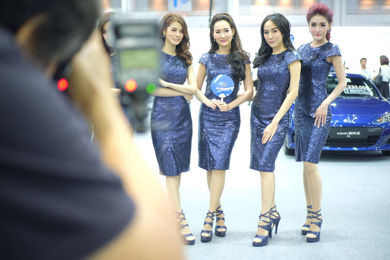pretty in Thailand motor expo 2016 Car Event Events Exibition Exibition Hall Girls Hall Indoors  Model Motor Expo Motor Expo 2016 People Present Pretty Pretty Girl Show Thailand Motor Expo 2016