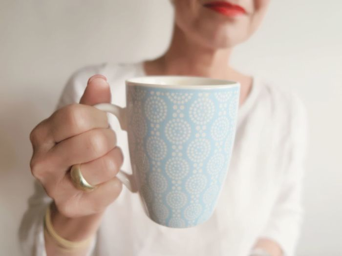Coffee Cup Coffee - Drink Drink Holding One Person Food And Drink Indoors  Drinking Real People Refreshment Human Hand Close-up Tea - Hot Drink Human Body Part Women Young Adult Freshness Day Adult People Smiling Pastel Power Pastel Jewellery Ring Love Yourself Autumn Mood