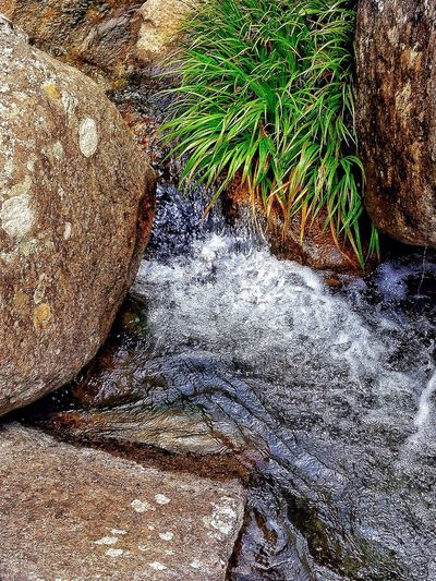 Close-up Rock - Object Water Flowing Motion Blur Stream Japan Photography InKaratsu