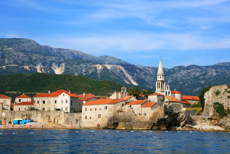 Budva Budva, Montenegro Budva,Montenegro Landscape_Collection Seascape Photography Travel Travel Photography Day Europe Landscape Landscape_photography Montenegro Montenegro Wild Beauty Nature No People Outdoors Sea Sea And Sky Seascape Travel Destinations Travelphotography