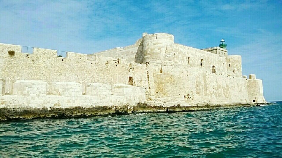 Castel In Siracusa, Italy Peace And Tranquility Seaandsky Goodlife