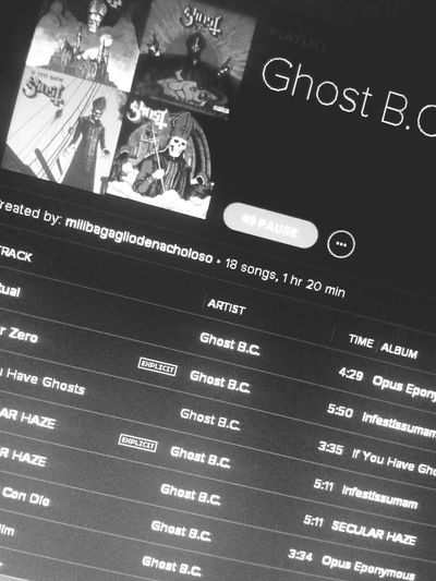 lo mejor del mundo Ghost Ghost Bc Doom Metal Papa Emeritus II Nameless Ghouls Band Spotify