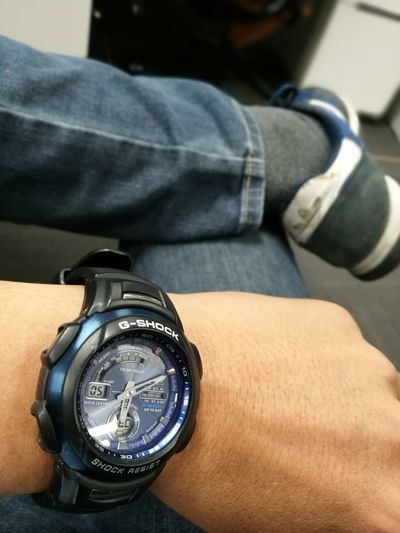 G-Shock ⌚ One Person Adults Only One Man Only Wristwatch People Adult Watch