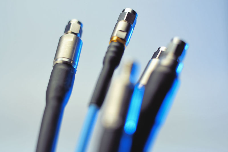 Coaxial Cables Blue No People Still Life Close-up Indoors  Selective Focus Studio Shot Side By Side Metal Table Group Of Objects Equipment Art And Craft Writing Instrument Pen High Angle View Creativity Multi Colored In A Row Day Blue Background Art And Craft Equipment Coaxial Cable Speed High Speed Technology Tech Networking Network Server Network Network Security Internet Micro Photography Signal Analyzing Coaxial Electricity  Electrical Power Line  Television Broadcasting Digital Laboratory Connector Computer Cable Cable Engineering Wire
