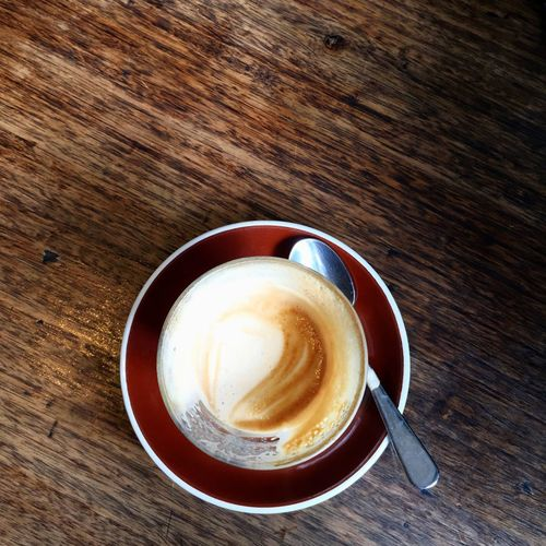 • The First Sip • Open Edit Cafe Latte Coffee Flat White Cappucino Coffee Break Cafe Espresso Coffee Time The Foodie - 2015 EyeEm Awards