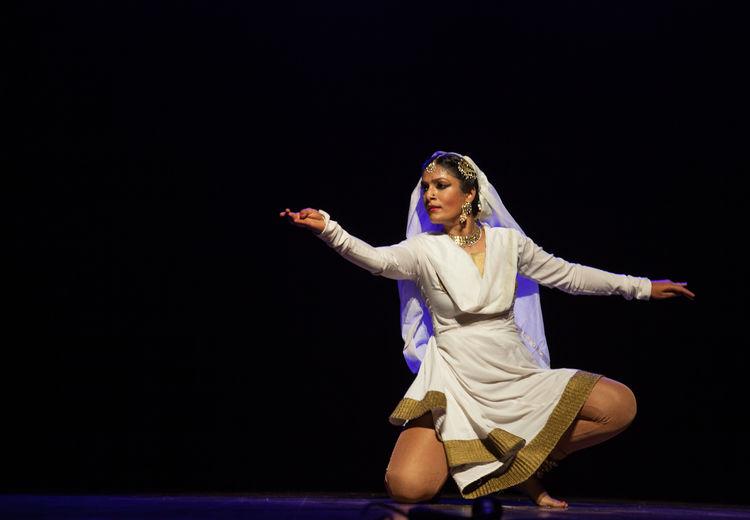 Gorgeous kathak dancer