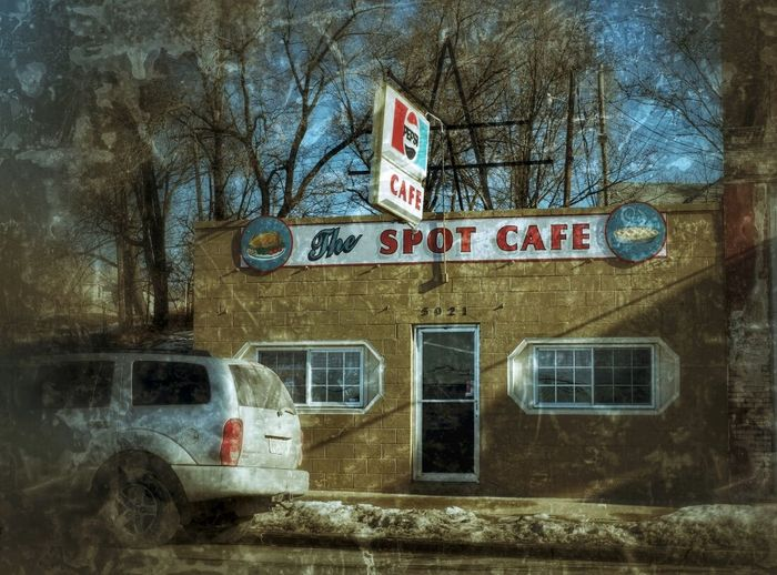 SPOT ON ~ Saint Joseph, Missouri Cafe Americano Divelandscape, Divestreetoghrophy, Cityscape, Roadside America Dreamscapes & Memories