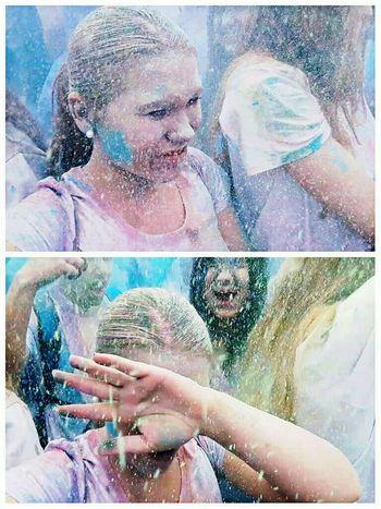 Farbgefühle Festival Friendship Lifestyles Happiness Fun Colors Colour Of Life Colorful Nicht die besten Fotos aber egal war trotzdem super 😊