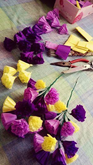 My Hobby Paperflowers I Love Doing Paper Flower i love making paper flowers