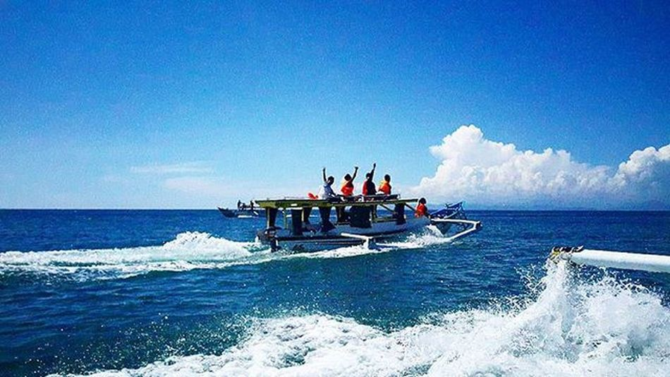 Very awesome boat trip Agushariantophotography Thedorsaleffect Livingthedream Lombokisland Lombokhighlight Snorkling Boattrip