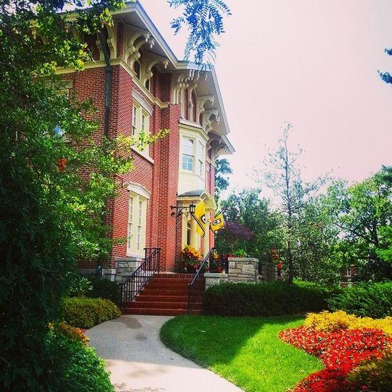 TheChancellor's Residence, circa 1867. Universityofmissouri Mizzou ColumbiaMo Como Architecture Campus Buildings