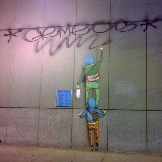 Streetart Boston Gemeos