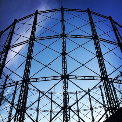 London Kennington Gas Holder Listed September Art Is Everywhere