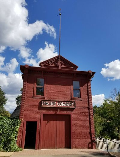 """Wild West fire station at Columbia State Historic District, California"" 🚒 First Eyeem Photo Fire Station Check This Out Taking Photos EyeEm Best Shots The Purist (no Edit, No Filter) The Way I See It EyeEm Nature Lover Eye4photography  EyeEm Gallery Cloud - Sky Streetphotography Historical Building Colour Your Horizn Red Sky No People Architecture Outdoors Day"