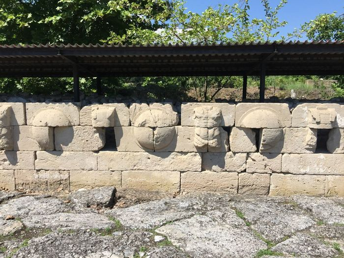 Roman road in Macedonia. (3) Greece Photos Dion History Built Structure Sunlight Ancient Outdoors Ancient Civilization Old Ruin Architecture Historic Park Open Museum