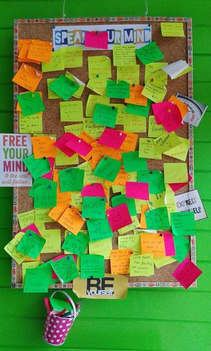 Speak your mind. Bonappetea Freedomwall