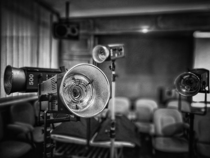 EyeEm Selects Retro Styled Old-fashioned Metal Indoors  Technology Focus On Foreground Close-up No People Movie Camera Day Steam Train