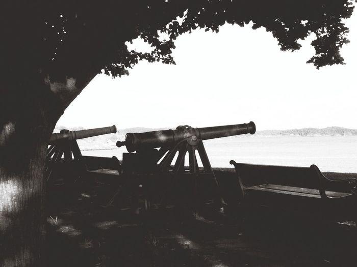 Cannons Vacation Taking Photos Walking Around Kristiansand