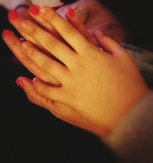 Human Body Part Human Hand Human Finger Love Mother&son Hands Long Goodbye This Is My Skin