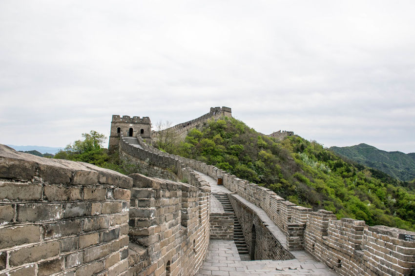 Beijing Connected By Travel Great Wall Of China Impressive Ancient Architecture China History Travel Destinations Wonder Of The World