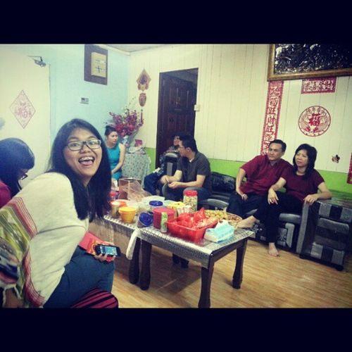 Beraya bersama keluarga GongXiFaCai2013 Brunei InstaBruDroid Andrography @lier_ Photobomber