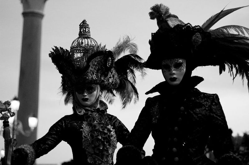 Disguise Travel Photography Carneval Carnevale Celebration Clear Sky Day Leisure Activity Lifestyles Outdoors Real People Sky Statue Travelphotography
