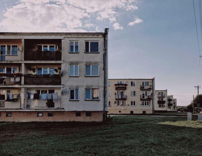 Architecture Modernism Block Europe Eastern Europe Concrete Geometry Domino